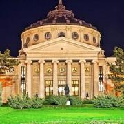 Romanian Atheneum by night