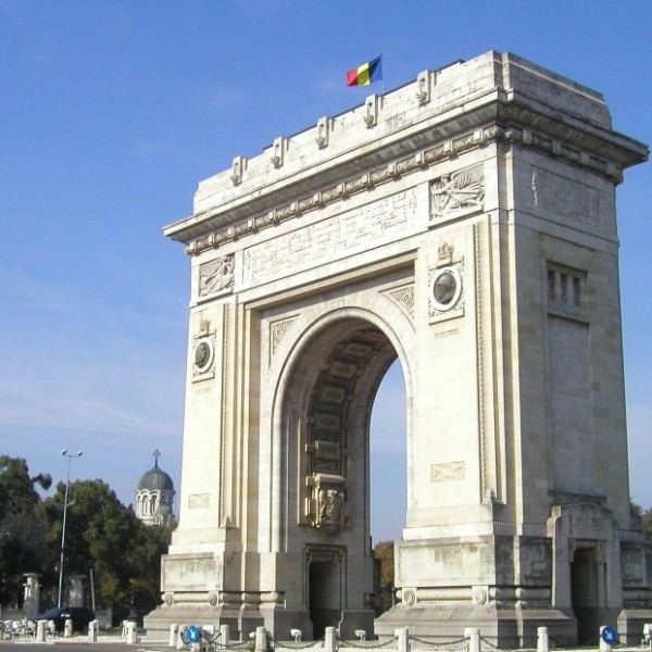 Triumph Arch in Bucharest