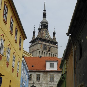 Medieval town of Sighisoara