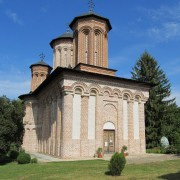 The Snagov Monastery with Dracula's tomb