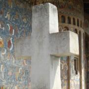Voronet Monastery in northern Moldova region