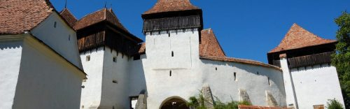 Visci / Weißkirch fortified church in Transylvania